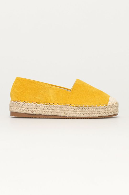 žlutá Answear Lab - Espadrilky Sun Color Dámský