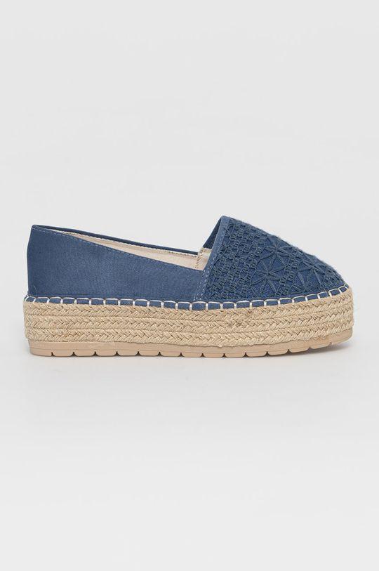 albastru Answear Lab - Espadrile Sun Color De femei