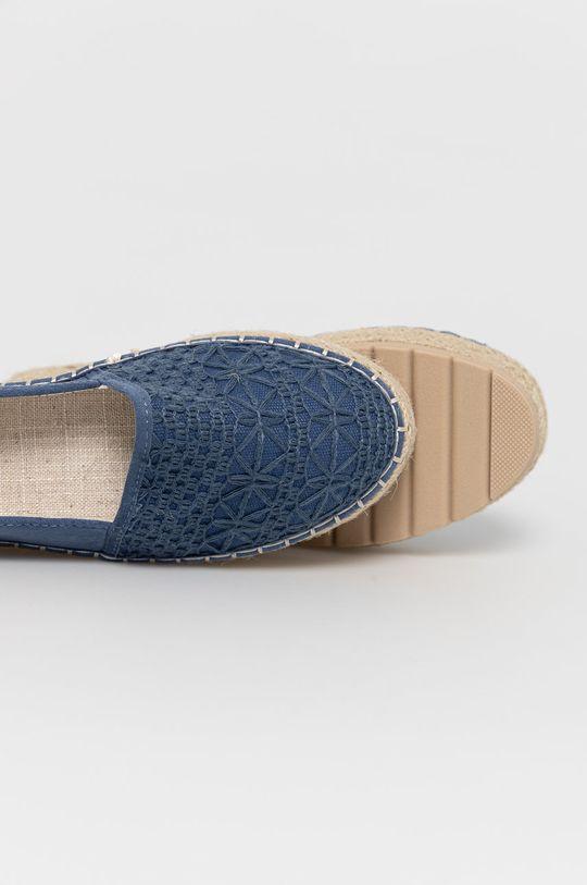 albastru Answear Lab - Espadrile Sun Color