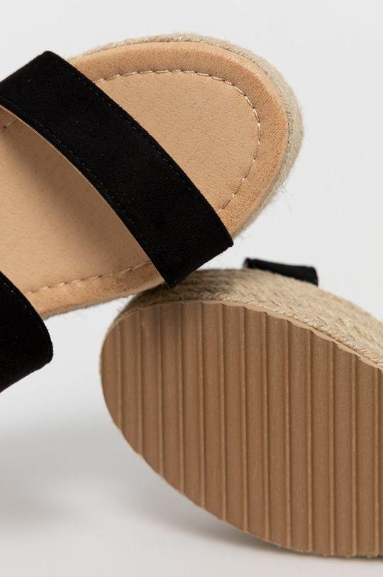 czarny Answear Lab - Sandały WK