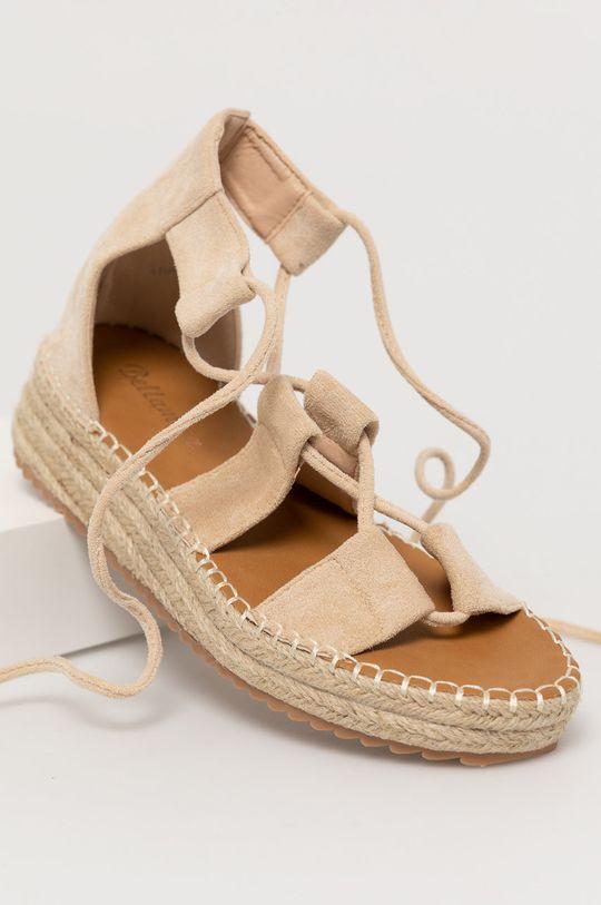Answear Lab - Sandále WK béžová