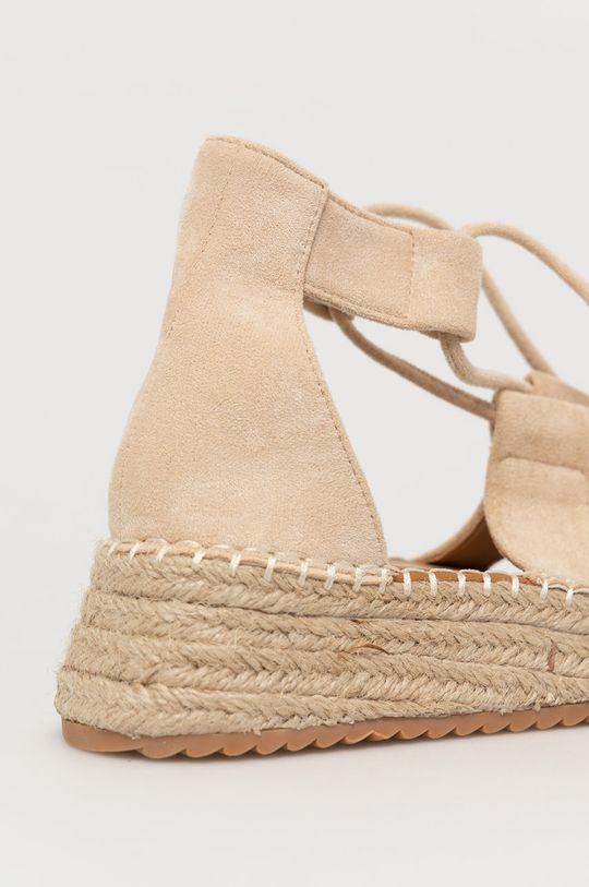 Answear Lab - Sandále WK  Zvršok: Textil Vnútro: Syntetická látka, Textil Podrážka: Syntetická látka