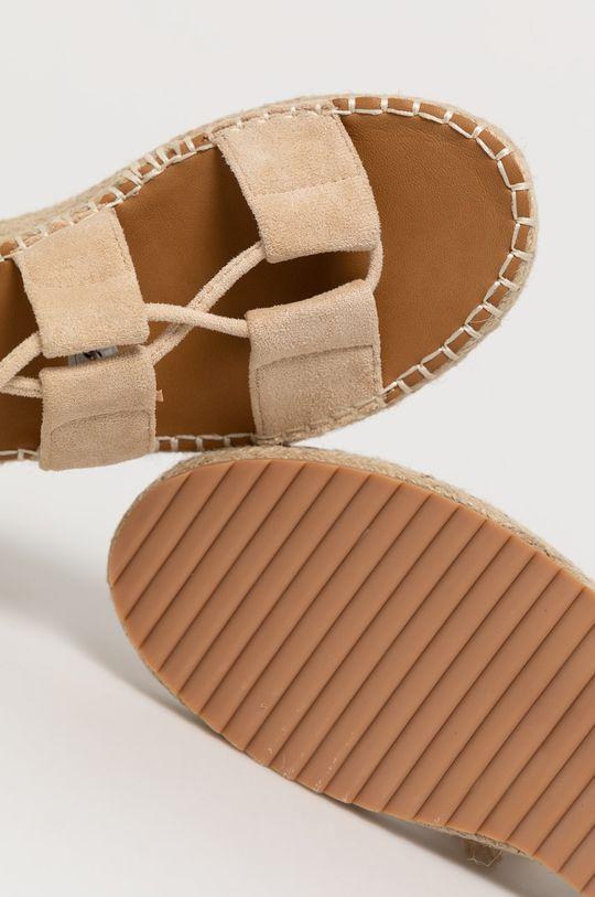béžová Answear Lab - Sandále WK