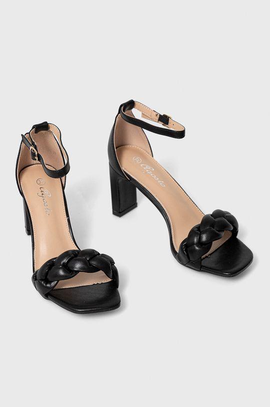 Answear Lab - Sandały Ragasta czarny