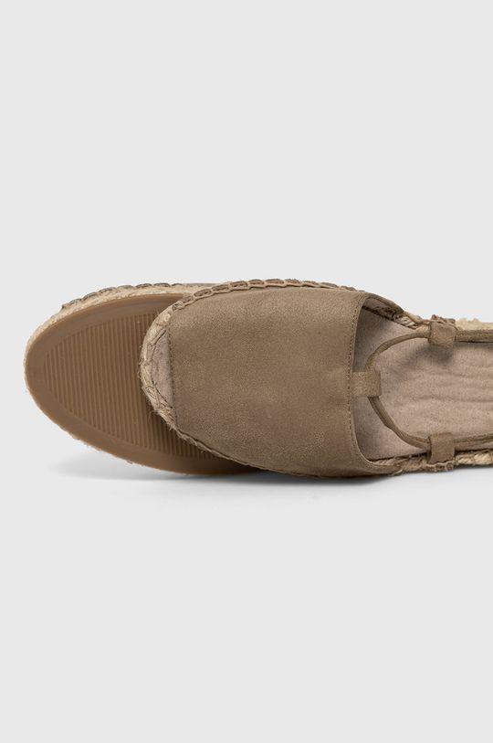 zelená Answear Lab - Sandále