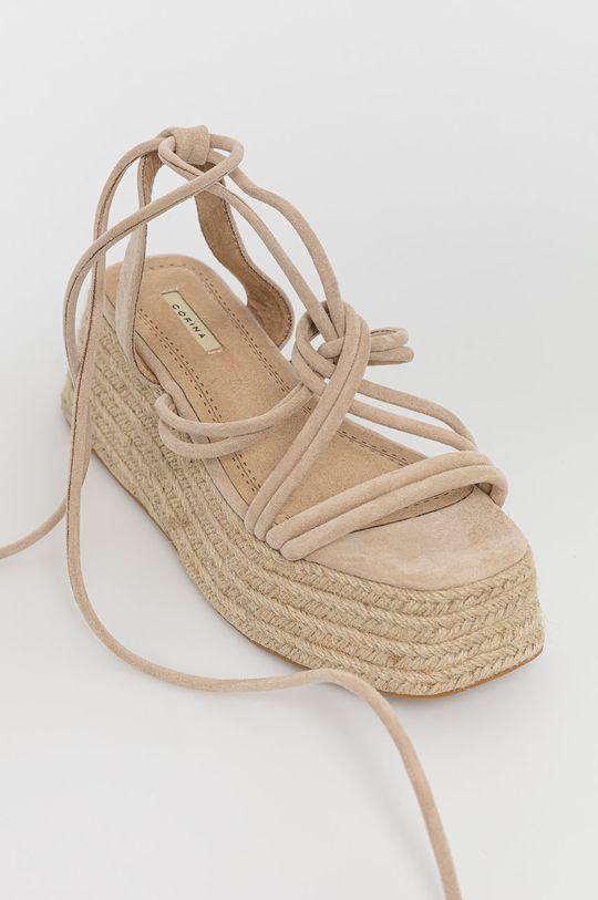 Answear Lab - Sandały beżowy