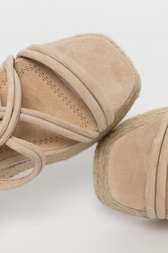beżowy Answear Lab - Sandały