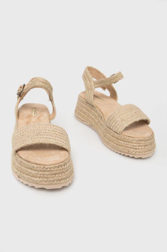 Answear Lab - Sandále béžová
