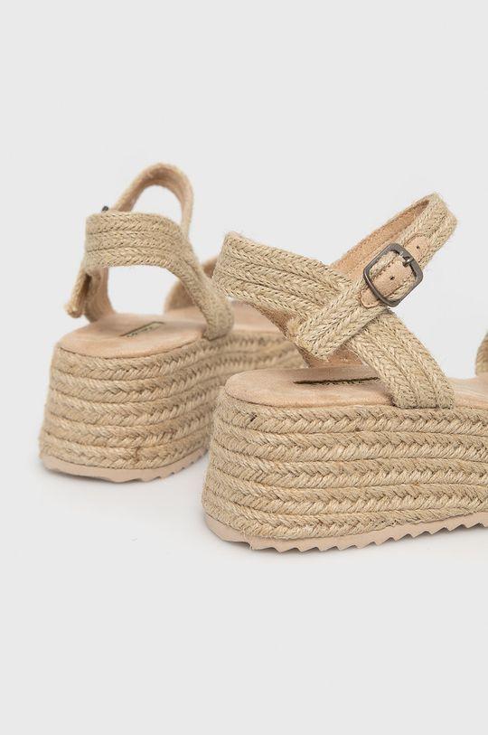 Answear Lab - Sandále  Zvršok: Textil Vnútro: Textil Podrážka: Syntetická látka