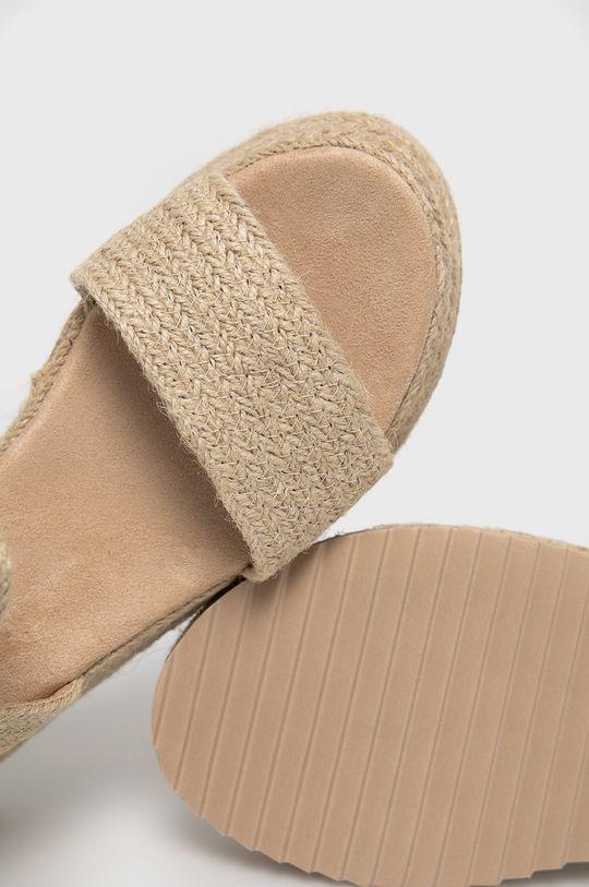 béžová Answear Lab - Sandále