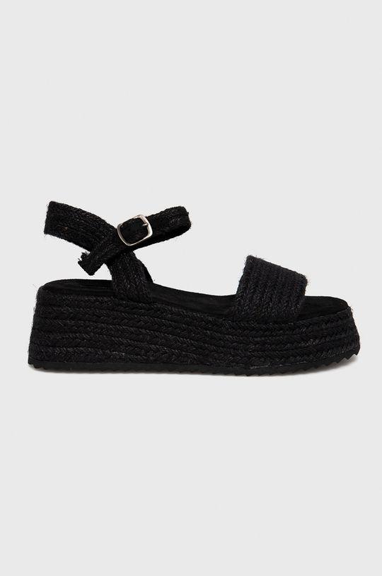 černá Answear Lab - Sandály Dámský