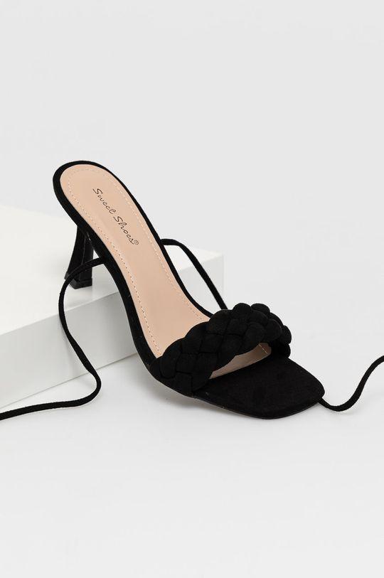 Answear Lab - Sandały Sweet Shoes czarny