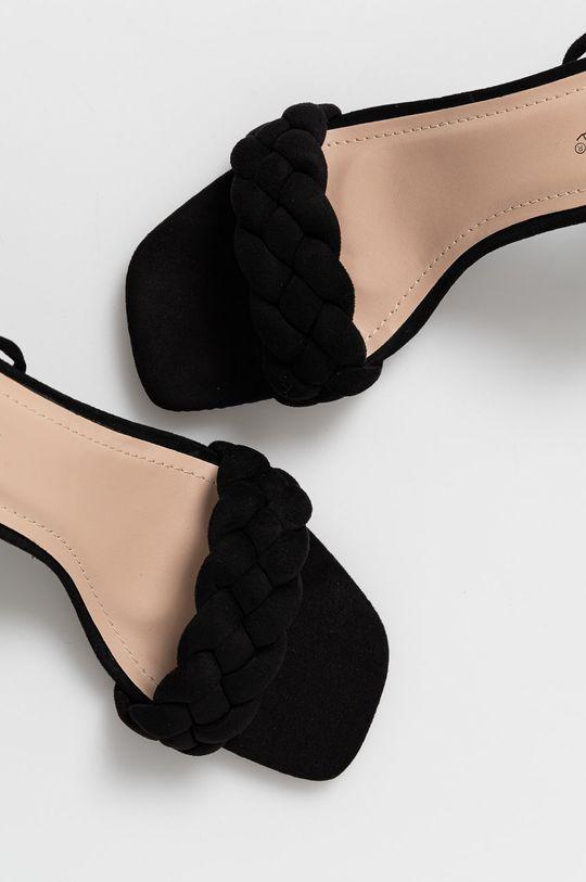 czarny Answear Lab - Sandały Sweet Shoes