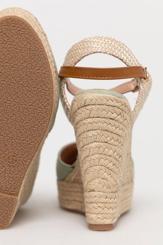 Answear Lab - Espadrilky Sweet Shoes  Svršek: Textilní materiál Vnitřek: Umělá hmota Podrážka: Umělá hmota