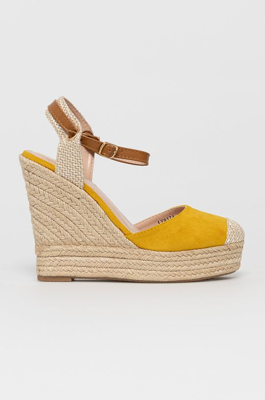 žlutá Answear Lab - Espadrilky Sweet Shoes Dámský
