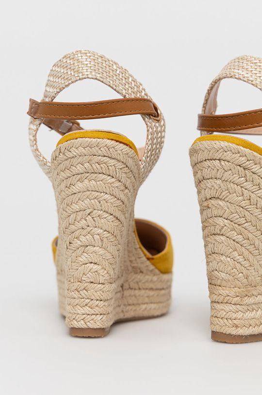 Answear Lab - Espadrilky Sweet Shoes  Svršek: Umělá hmota, Textilní materiál Vnitřek: Umělá hmota Podrážka: Umělá hmota