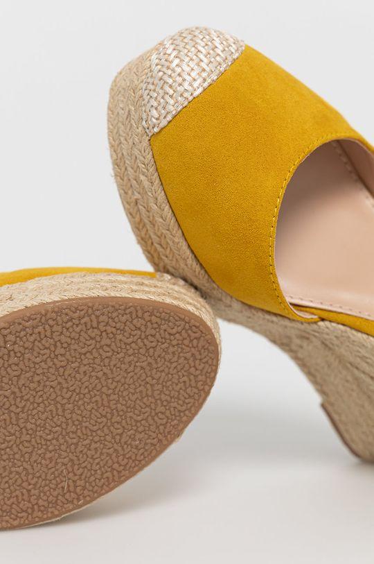 žlutá Answear Lab - Espadrilky Sweet Shoes