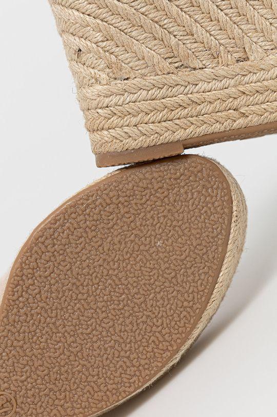 béžová Answear Lab - Espadrilky Sweet Shoes