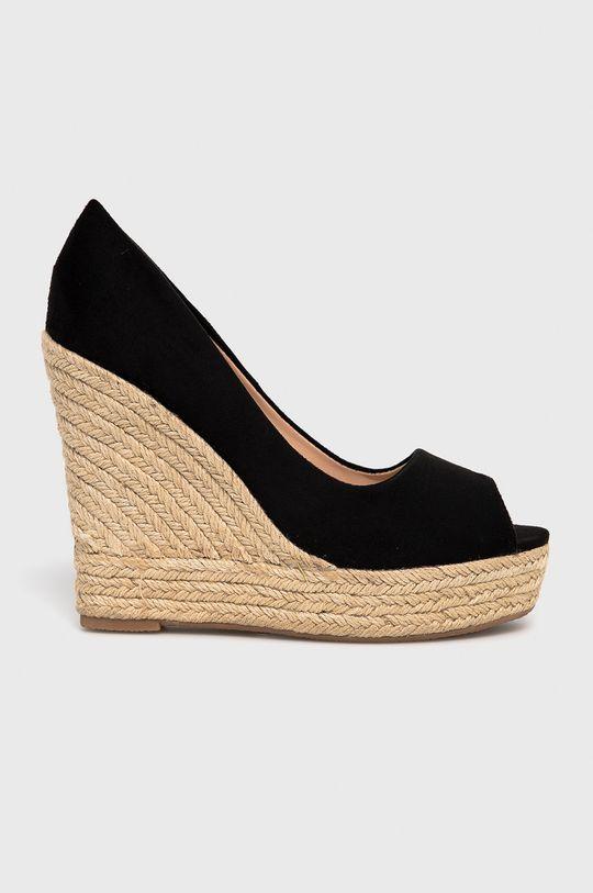 čierna Answear Lab - Espadrilky Sweet Shoes Dámsky
