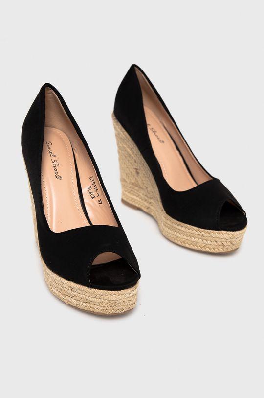 Answear Lab - Espadrilky Sweet Shoes čierna
