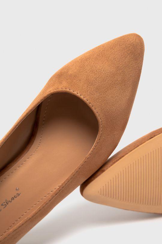 złoty brąz Answear Lab - Baleriny Sweet Shoes