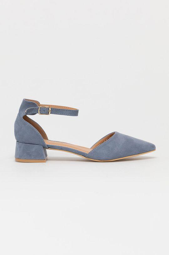 niebieski Answear Lab - Czółenka Sweet Shoes Damski