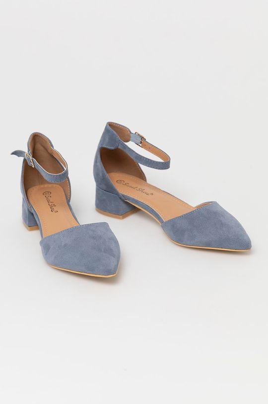 Answear Lab - Czółenka Sweet Shoes niebieski