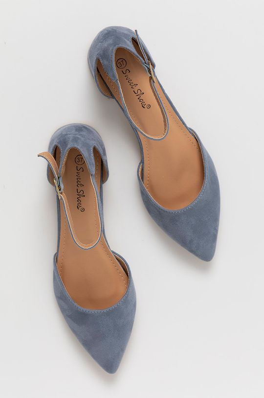 niebieski Answear Lab - Czółenka Sweet Shoes