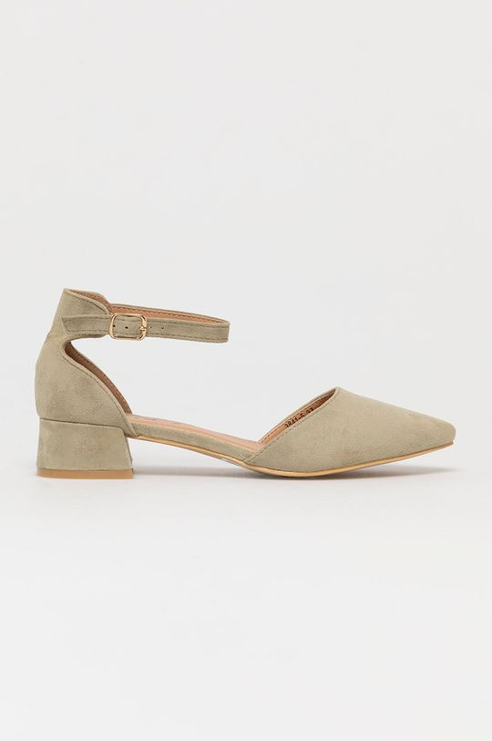 miętowy Answear Lab - Czółenka Sweet Shoes Damski
