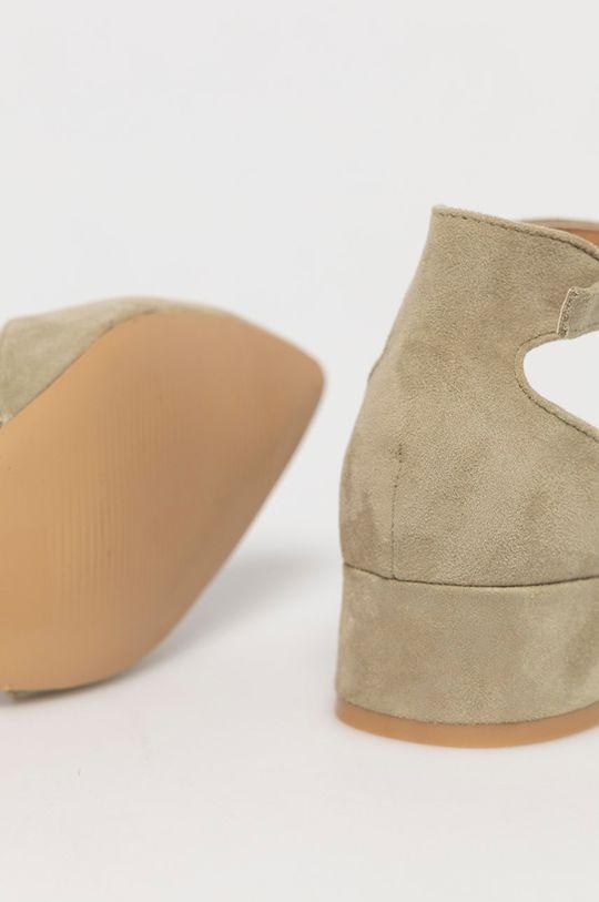 Answear Lab - Czółenka Sweet Shoes Cholewka: Materiał tekstylny, Wnętrze: Materiał syntetyczny, Podeszwa: Materiał syntetyczny