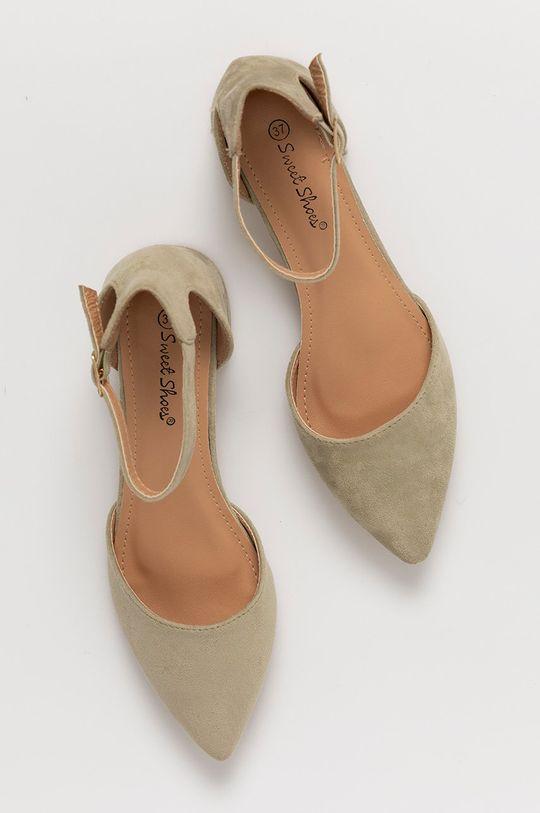 miętowy Answear Lab - Czółenka Sweet Shoes