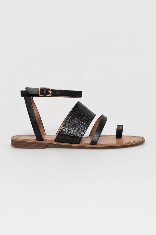 čierna Answear Lab - Sandále Sweet Shoes Dámsky