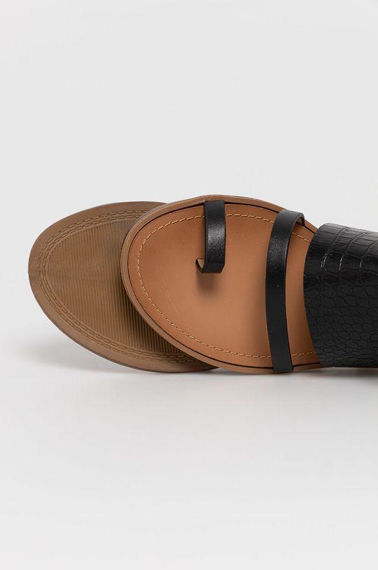 čierna Answear Lab - Sandále Sweet Shoes