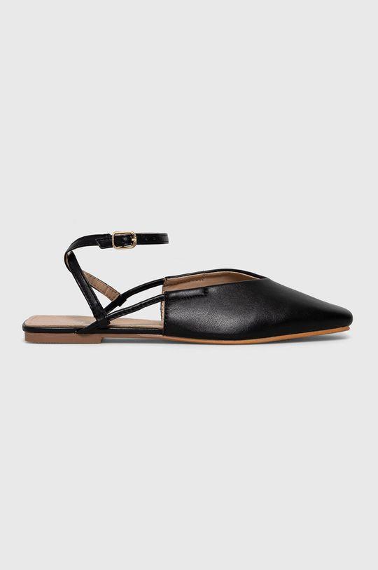 czarny Answear Lab - Baleriny Sweet Shoes Damski