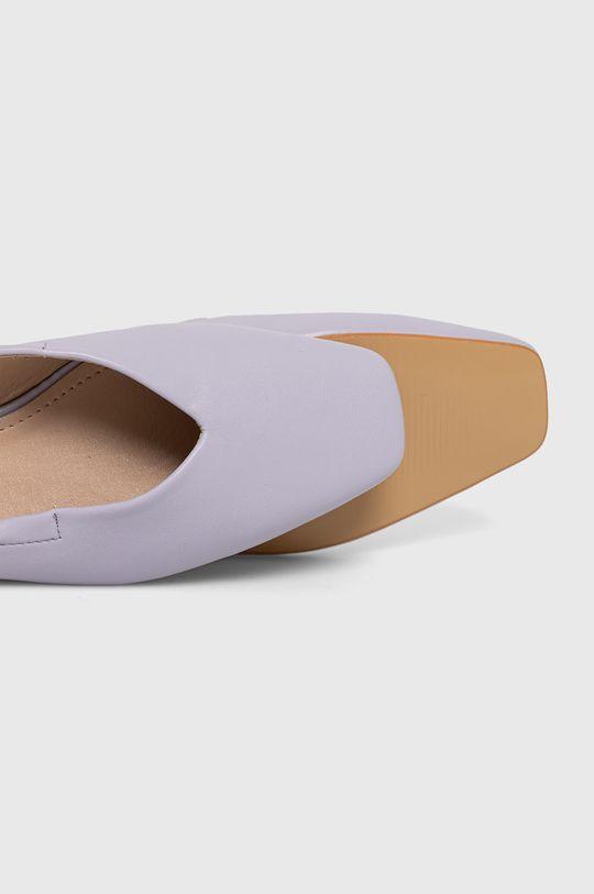 lawendowy Answear Lab - Baleriny Sweet Shoes