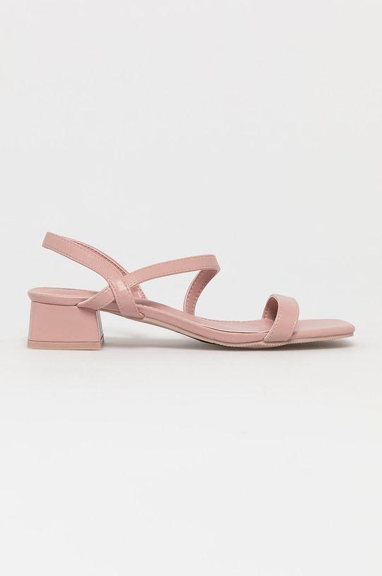 różowy Answear Lab - Sandały Vera Blum Damski