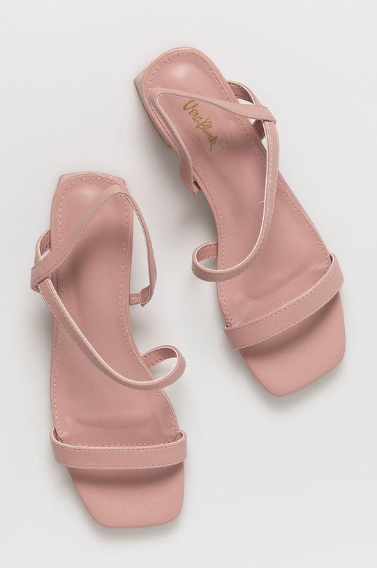 różowy Answear Lab - Sandały Vera Blum