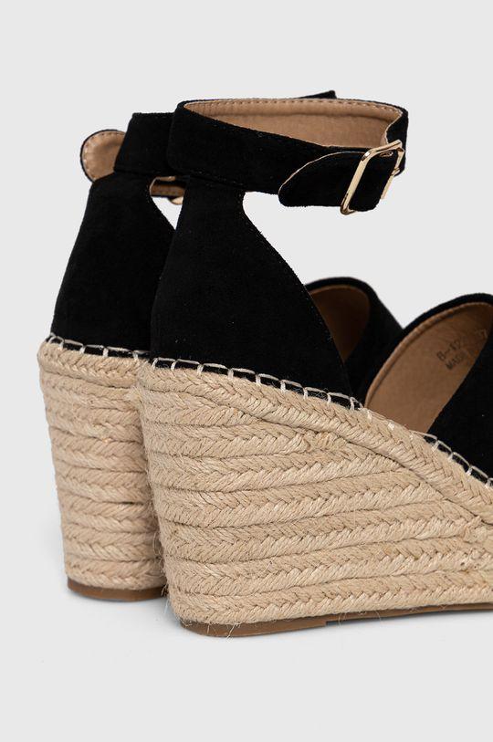 Answear Lab - Espadrile GoGoShoes  Gamba: Material textil Interiorul: Material sintetic, Material textil Talpa: Material sintetic