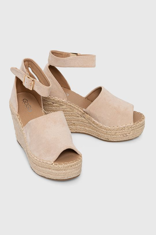 Answear Lab - Sandale GoGoShoes bej