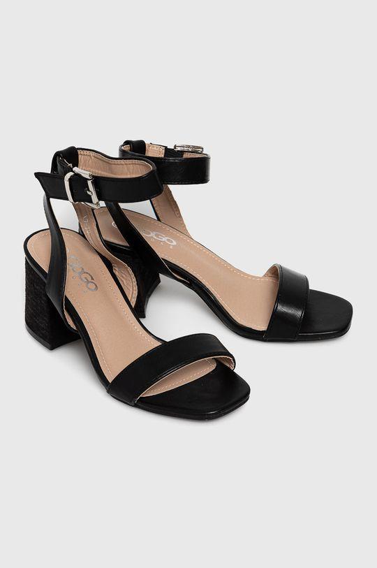 Answear Lab - Sandale GoGoShoes negru