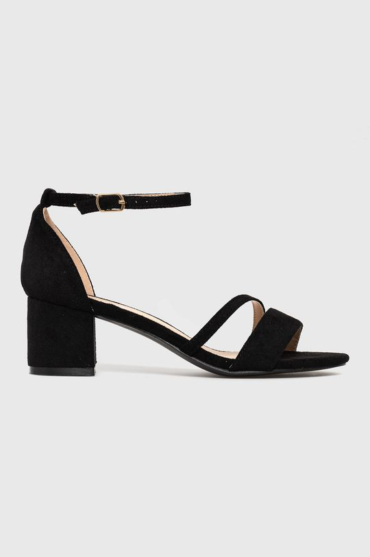 čierna Answear Lab - Sandále GoGoShoes Dámsky