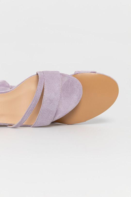 lawendowy Answear Lab - Sandały GoGoShoes