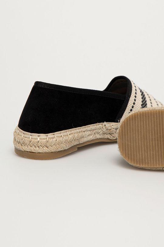 Answear Lab - Espadryle Melissa Cholewka: Materiał tekstylny, Wnętrze: Materiał syntetyczny, Materiał tekstylny, Podeszwa: Materiał syntetyczny