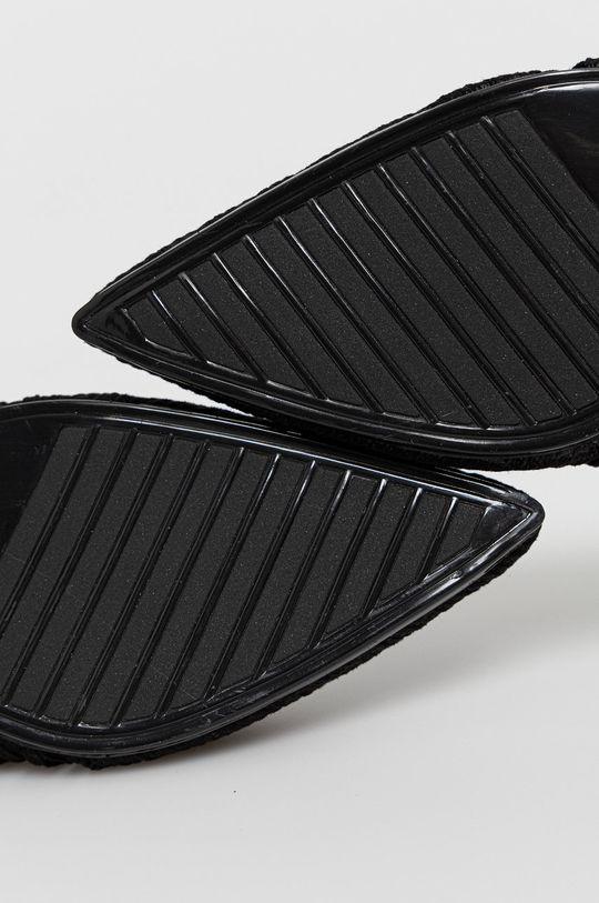 čierna Answear Lab - Šľapky GIVANA