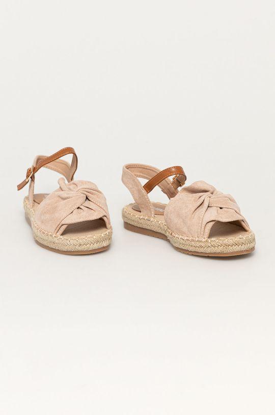 Answear Lab - Sandále Day-vine béžová