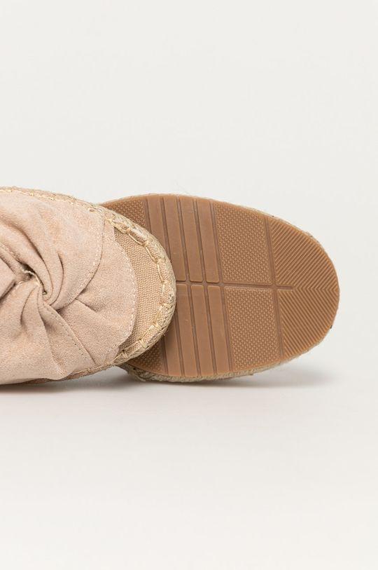 béžová Answear Lab - Sandále Day-vine