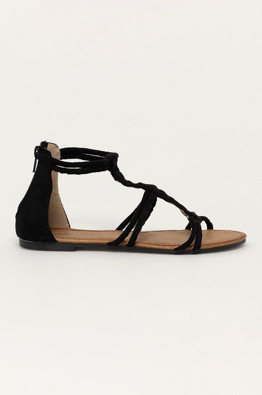 černá Answear Lab - Sandály Bottine Dámský