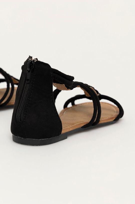Answear Lab - Sandály Bottine  Svršek: Textilní materiál Vnitřek: Textilní materiál Podrážka: Umělá hmota