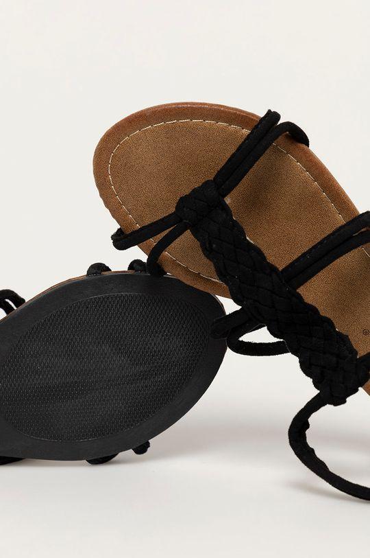 černá Answear Lab - Sandály Bottine