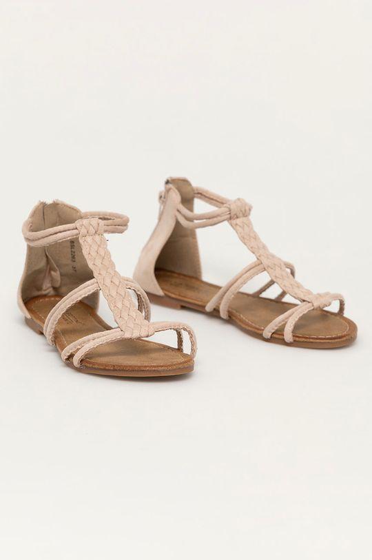 Answear Lab - Sandále Bottine béžová